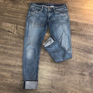 Citizens of Humanity light washed jeans